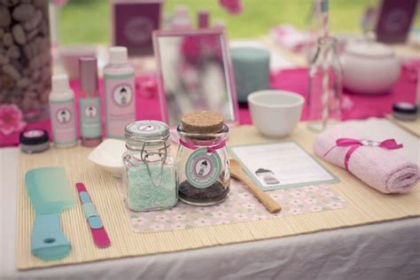 Cherry Blossom Spa Themed Birthday Party