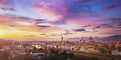 Florence Wallpapers Desktop Sunset Italy Travel