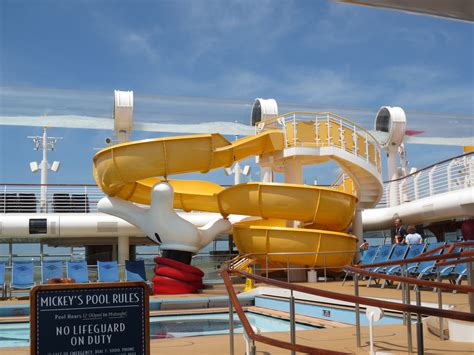 disney dream mickey s pool slide pool slides disney