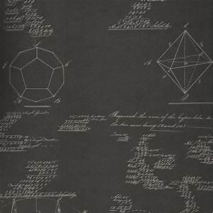 Pythagoras Charcoal Wallpaper