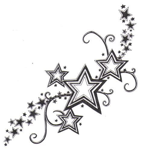 star tattoo design samples  ideas