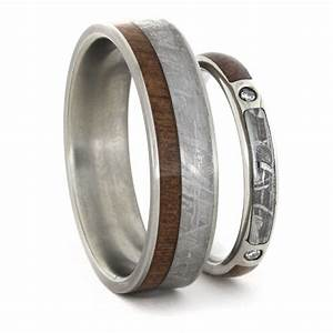 stunning wedding rings wedding rings with inlays With depleted uranium wedding ring