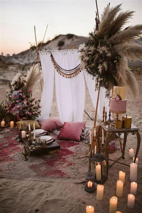 awesome desert boho wedding theme homemydesign