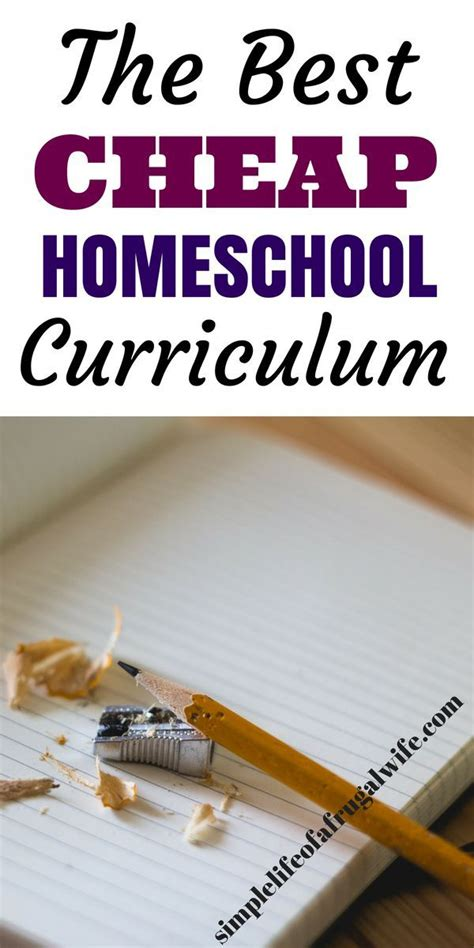 Cheap Homeschool Curriculum for a Tight Budget - Simple ...