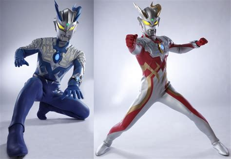 the center of anime and toku ultraman zero new forms