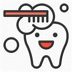 Teeth Brush Icon Brushing Dental Tooth Toothbrush