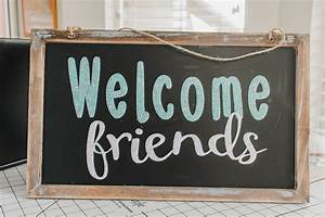 Welcome, Friends, Svg