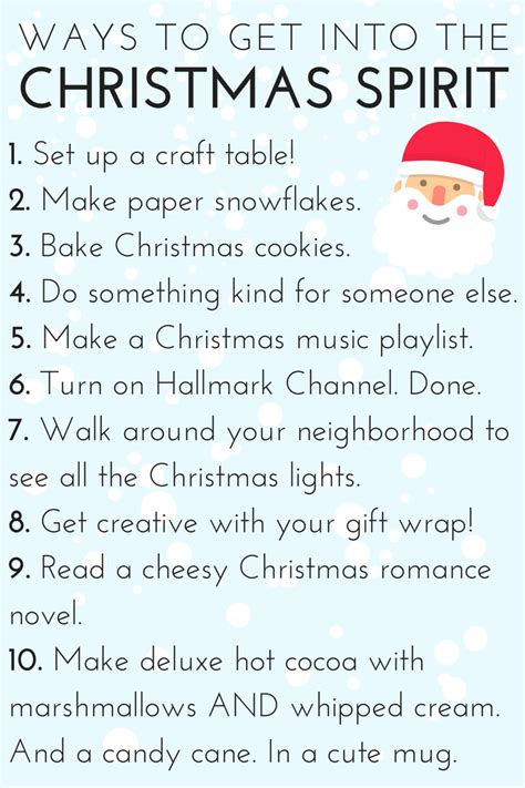 top 10 things to get your for christmas 10 ways to get into the christmas spirit whatever bright things
