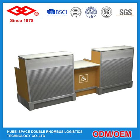 bwi airport information desk airport check in counter used l shaped reception desk