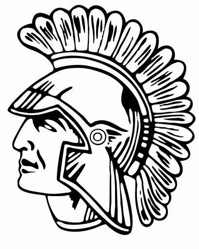 Trojan Head Clipart Clip Spartan Gladiator Usc