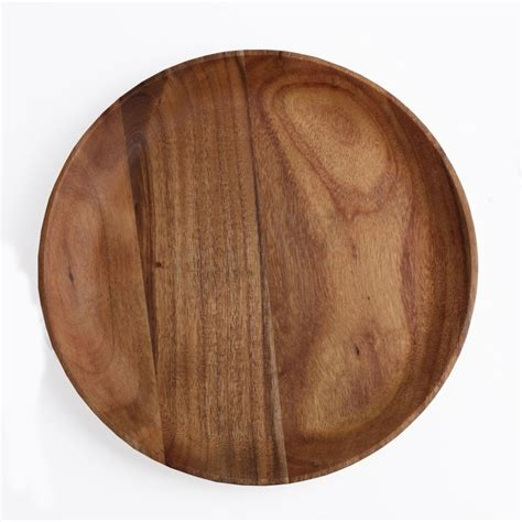 acacia wood  plate  sizes cedar hospitality supplies