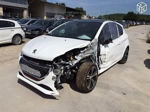 Peugeot 208 Blanche : photos les peugeot 208 gti accident es page 13 ~ Gottalentnigeria.com Avis de Voitures
