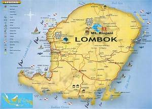 Map Of Lombok