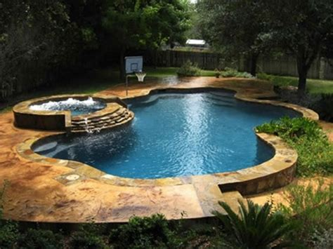 pool and spa images 48 awesome garden hot tub designs digsdigs