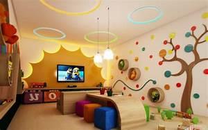 Gaming Zimmer Deko : 100 moderne ideen f r kindergarten interieur ~ Markanthonyermac.com Haus und Dekorationen
