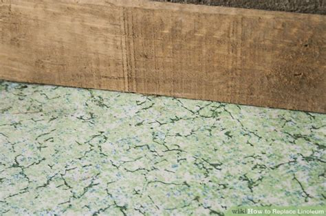 replace linoleum  steps  pictures wikihow