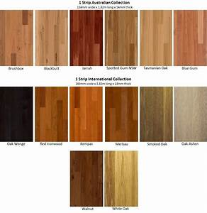 Types of timber flooring in australia for Timber floor colours