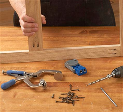 nokw pocket hole workbench plans