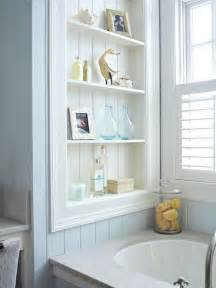 recessed shelving for the home