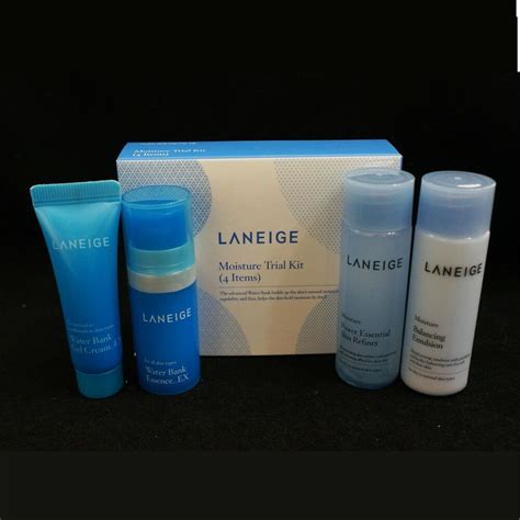 Harga Laneige Renew Trial Kit laneige moisture trial kit hydrating skincare travel kit