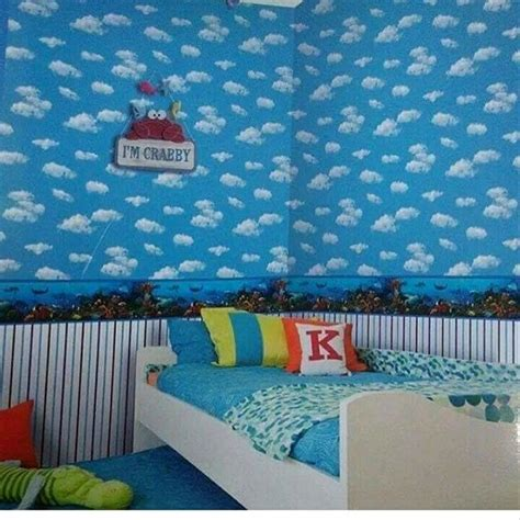 keren  wallpaper biru langit keren rona wallpaper