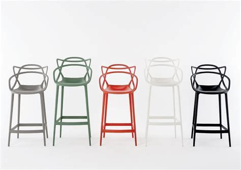 tabouret chaise de bar kartell masters stool by philippe starck bar stool counter stool