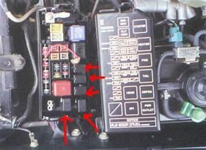 1994 Mitsubishi Galant E Fuse Box