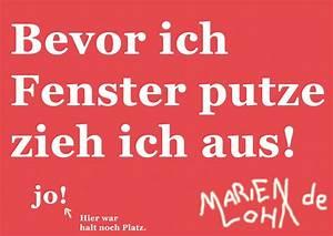 Wie Putze Ich Fenster : marien loha bevor ich fenster putze zieh ich aus ~ Markanthonyermac.com Haus und Dekorationen