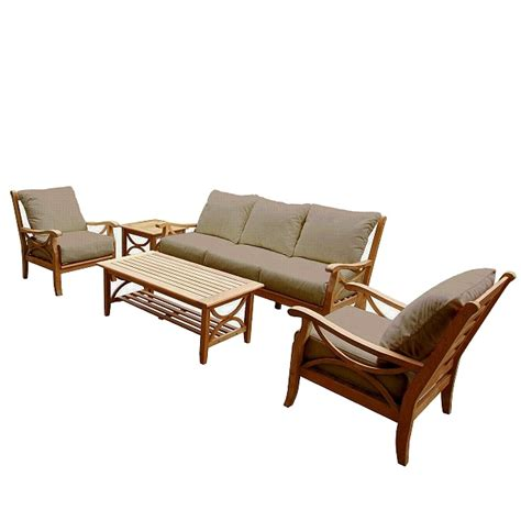 sets teak eucalyptus shorea kapur patio deck furniture