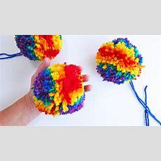 Creative Basics How To Make Pom Poms  Babble Dabble Do