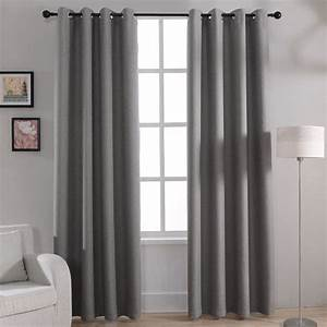 aliexpresscom acheter moderne solide blackout rideaux With rideaux pour fenetre chambre