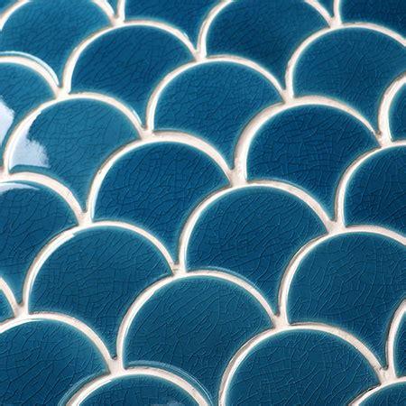 frozen fan shape crackle bcz mosaic tile crackle