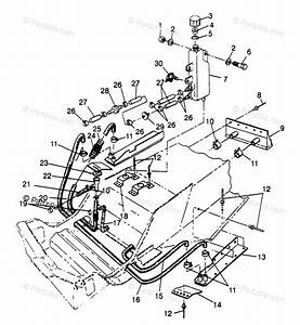 Polaris Snowmobile 1997 Oem Parts Diagram For Cooling