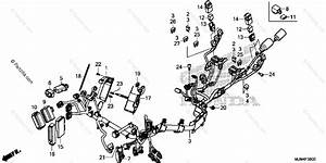 Honda Motorcycle 2014 Oem Parts Diagram For Wire Harness