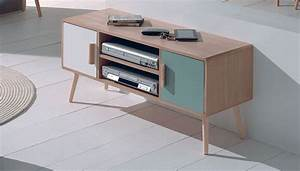 Meuble Tv Vintage Scandinave : meuble tv mahony cocktail scandinave 89 deco living room pinterest tvs salons and ~ Teatrodelosmanantiales.com Idées de Décoration