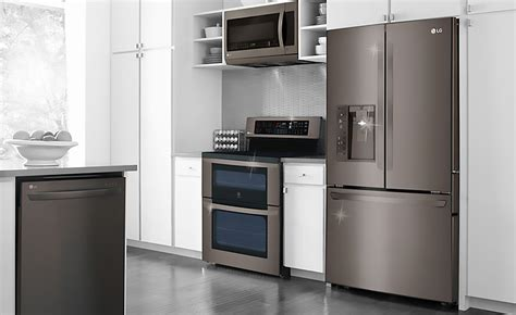 black stainless steel appliances   kitchen    buy blog