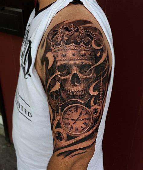 skull tattoos        thought