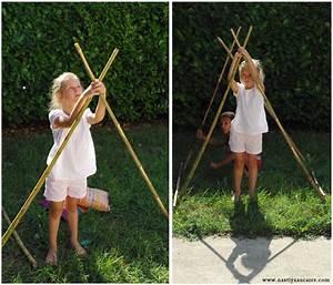 Tipi Indien Enfant : nastiya fabriquer un tipi enfant avec des rideaux ~ Melissatoandfro.com Idées de Décoration