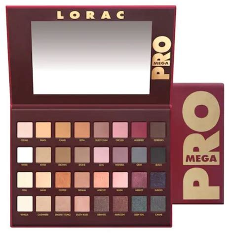 lorac mega pro palette reviews  ingredients makeupalley