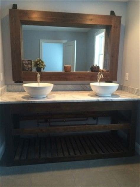 slatted double vanity almost finished do it yourself