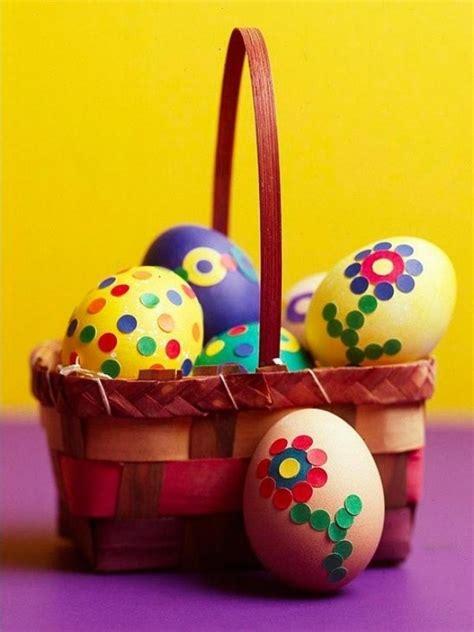 oeufs decores pour paques des œufs de p 226 ques 101 idees pour d 233 coration r 233 ussie