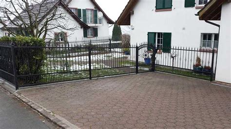 Zaun Hundesicher Machen by Indiviualisierung Schmiedeeisen Zaun