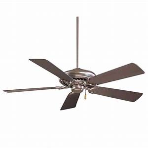 Inch ceiling fan with five blades f bs