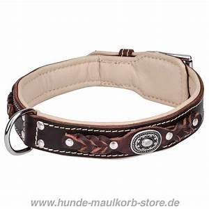 Hundehalsband Mit Namen Leder : hundehalsband luxus klasse geflochten 69 5 ~ Yasmunasinghe.com Haus und Dekorationen