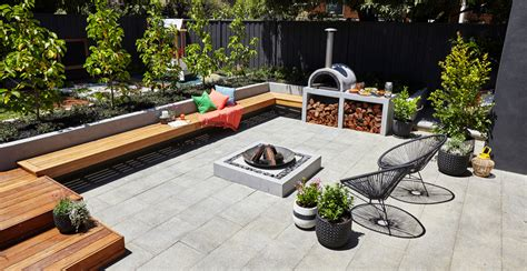 backyard entertainment how to create a modern d i y outdoor entertaining area