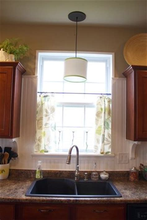 curtains for kitchen window above sink swooning over these super simple diy cafe curtains i want