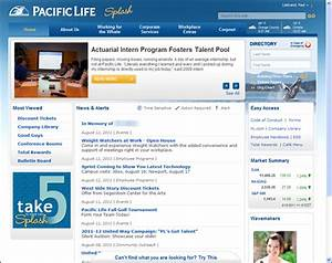 intranet de pacific life 2011 sharepoint niveles de With company intranet template