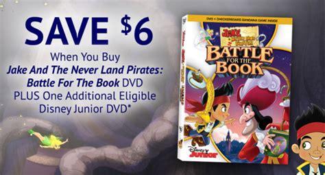 jake    land pirates battle   book dvd coupon