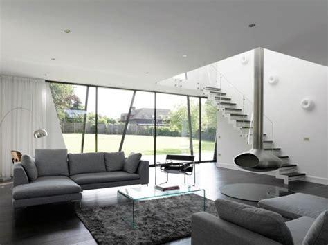 ideas sobre decoracion salon gris  blanco piso