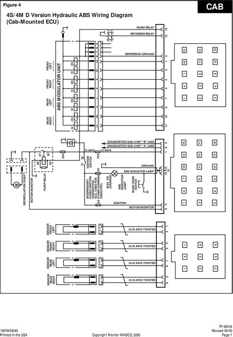 breathtaking meritor wabco trailer abs wiring diagrams gallery
